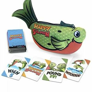 Happy Salmon - Green Original Edition - NEW