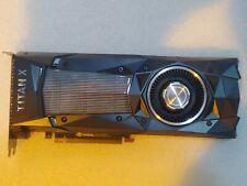 Nvidia GTX Titan X (Pascal), 12 Gb GDDR 5X, 384 Bit 900-1G611-2500-000