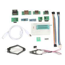 Tl866ii Plus USB Universal Programmer EPROM EEPROM Flash Bios AVR Pic 10adapters