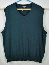 Van Heusen Cotton Blend V-Neck Sweater Vest Size 2XL