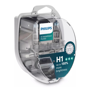 H1: Philips 12258XVPS2 X-tremeVision Pro150 Halogen Headlight Bulb (Pack of 2)