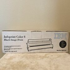 NEW ! GENUINE IBM Infoprint Color 8 - Black Image Drum 02N7213 - Unopened Box
