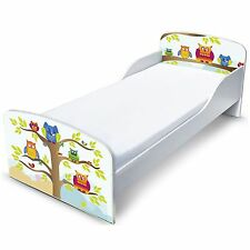 OWLS MDF TODDLER BED NEW BOXED JUNIOR