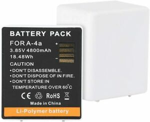 A-4a Replacement Batteries for Arlo Pro3 Arlo Ultra VMA5400 Rechargeable Battery