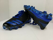 New Adidas Icon Md Baseball Cleats ~ Black/ Blue, Men's Size 13.5
