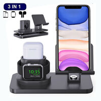 3In1 Charging Dock Station For iPhone Apple Watch Airpods Charge Stand Holder