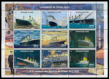 GUINEA M/S 1998 TITANIC SHIP SHPIS WHITE STAR-LINE MNH z2416