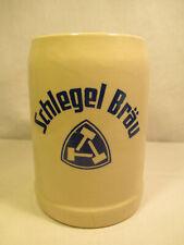 Brauerei Bierkrug Schlegel Bräu Bochum oder Wasseralfingen alt