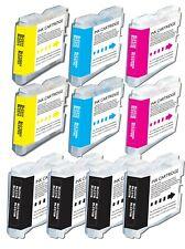 10Pk LC51 Ink for Brother MFC 240C 3360C 5860CN 845CW 665CW 685cw 885cw 230C