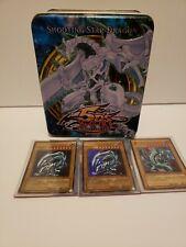 YU-GI-OH 350+ Card Lot With Holos. Shooting Star Dragon Tin. BEWD. With Posters