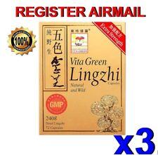 Vita Green Lingzhi anti-aging/vitality/heart strengthen immune system pills x 3