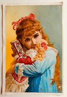 Burdock Blood Bitters 2 Sided Victorian Trade Card - FREE SHIPPING