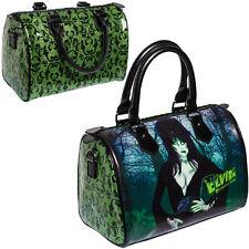 NEW KREEPSVILLE 666 Elvira Glitter Verde Borsetta Borsa Gotico Punk Emo Fashions