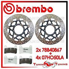Dischi Freno Anteriore BREMBO+Pastiglie BREMBO LA HONDA CB 1000 R 2013 2014 2015