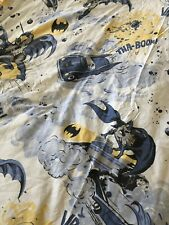 Pottery Barn Kids Batman Queen Flat Sheet and Pillowcase