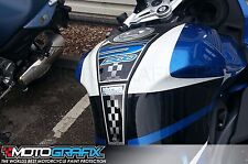 BMW K1300S 2009 10 11 12 13 14 Motorcycle Tank Pad Motografix 3D Gel Protector
