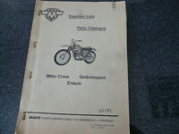 Maico Ersatzteil Liste Parts Cataloogue MC u GS Mod 1973 original