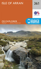 Isle of Arran Explorer Map 361 - New - OS - Ordnance Survey