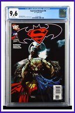 Superman Batman #38 CGC Graded 9.6 DC September 2007 White Pages Comic Book.