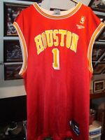 be95870b8 Tracy McGrady  1 Reebok NBA Basketball Jersey Adult Size XL Houston Rockets  NM