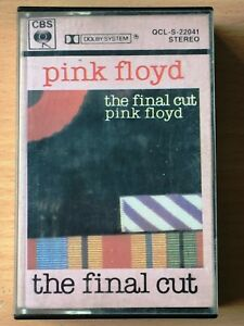 PINK FLOYD The Final Cut PHILIPPINES PAPER LABEL CASSETTE TAPE