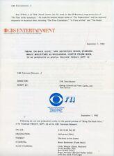 BRUCE BOXLEITNER BRING 'EM BACK ALIVE RARE ORIGINAL 1982 CBS TV PRESS MATERIAL