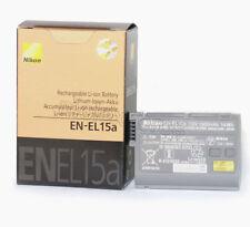 New EN-EL15A Battery For Nikon D850 D810 D7500 D7200 MB-D12 MH-25 EN-EL15