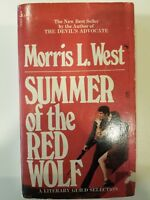 MORRIS WEST - Summer of Red Wolf - MASS MARKET ** Very Good Condition **