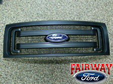 2009 thru 2014 F-150 OEM Genuine Ford Parts Black XL Model Grille w/Emblem