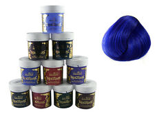 LA RICHE DIRECTIONS HAIR DYE COLOUR NEON BLUE x 4 TUBS