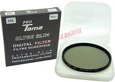 ProTama 77mm Ultra Slim CPL Cir-PL Circular Polarizing Polarizer Digital Filter