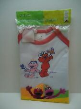 SESAME STREET ELMO/ZOE INFANT T-shirt SMALL red trim NEW ~* FREE SHIP*~
