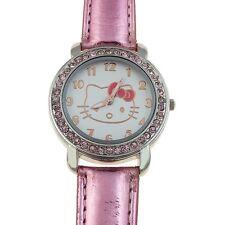 Reloj HELLO KITTY  watch Rosa y brillantes Precioso  A1122