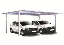 Spanbilt Double Carport 5.9m x 5.5m Flat Roof Zinc Carport