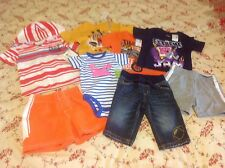 Baby Boy's clothes lot 3-6-9mo Children's Place Carter's Crazy 8 Oshkosh B'gosh