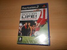 Soccer Life, PlayStation 2 PRECINTADO PS2 GB Versión Pal