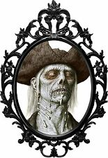 Zombie Frame Sticker - Funny Evil The Walking Dead Blood Decal Halloween Scary