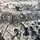 1862 CIVIL WAR newspaper BATTLE OF MALVERN HILL VIRGINIA Robert E Lee PENINSULA