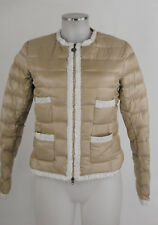 Guxy Daunenjacke 36 (D) 42 (I) goldbeige Steppjacke light Anorak top