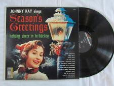 Johnny Kaye,  Season's Greetings,  Vinyl LP,   Spin o rama