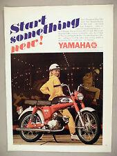 Yamaha Rotary Jet 100 Motorcycle PRINT AD - 1967 ~ cycle