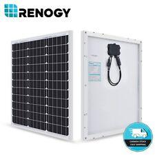 NEW Compact Design Renogy 50W Watt 12V Volt Monocrystalline Solar Panel Off Grid