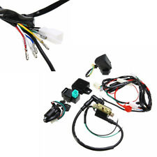 Motorcycle Bike ATV CDI Wiring Harness Loom Ignition Solenoid Coil Rectifier