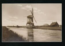 Holland Oude schilderachtige Molens Windmill vintage RP PPC