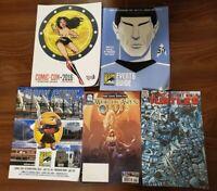 San Diego Comic-Con 2016 Souvenir Book Star Trek Quick Guide and free comics