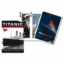 TITANIC LOT DE 52 cartes à jouer + Jokers ( Gib )