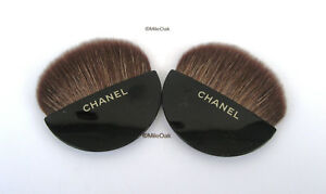 Chanel 2 Make Up Brushes ( Fan shaped)  - New