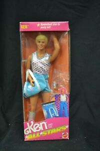 KEN and the ALL STARS Barbie Doll Mattel  #9361 NRFB 1989 No Reserve