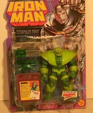 "Iron Man Titanium Man w/Retractable Blade 5""IN Action Figure  1995 TOY BIZ"