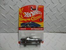 Hot Wheels Classics Series 1 #10 Chrome 1971 Plymouth GTX